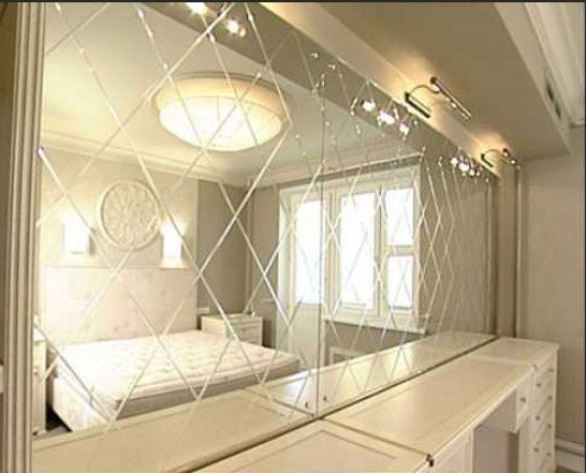 плитка зеркало в ванной комнате