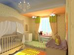 Интерьер в детской комнате