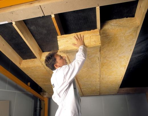 Утеплить подвесной потолок своими руками