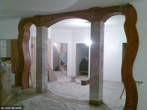 двери аркой