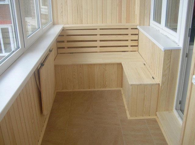 Облагораживаем утепленный балкон - дизайн балкона